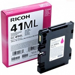 Картридж Ricoh Type GC41ML пурпурный