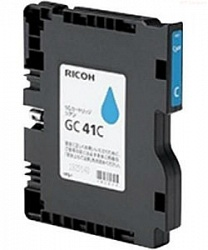 Картридж Ricoh Type GC41СL голубой